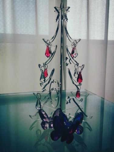スワロフスキーでキラキラクリスマスツリー