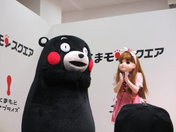 くまモンとリカちゃん
