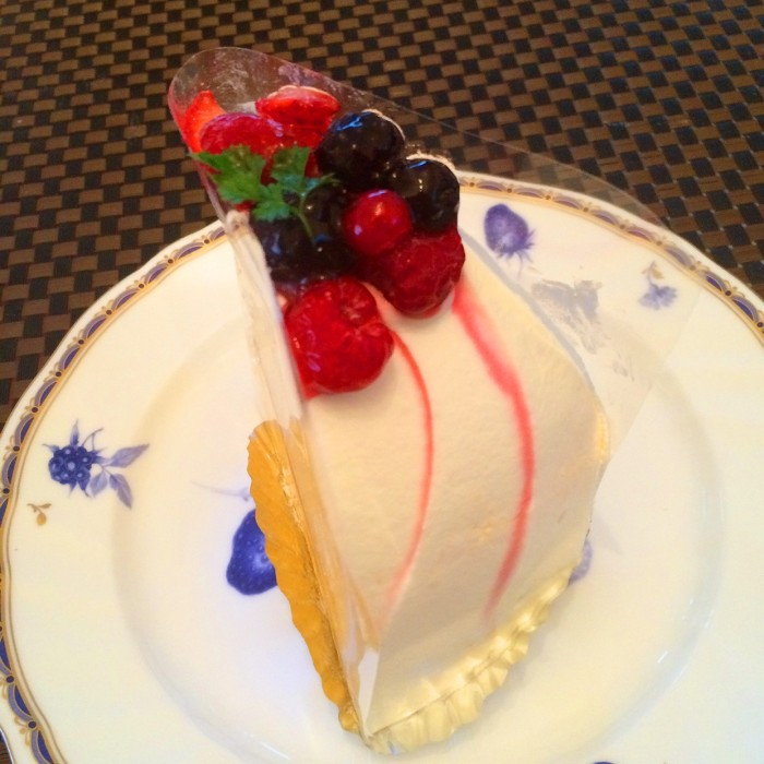 ズコットチーズケーキ