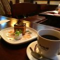 熊本の老舗喫茶店:岡田珈琲・上通本店でハンドドリップのコーヒーと手作りケーキを味わう